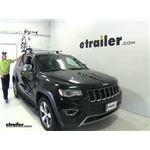 Thule Roof Bike Racks Review - 2014 Jeep Grand Cherokee