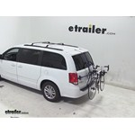 Thule Passage Trunk Mounted Bike Rack Review - 2014 Dodge Grand Caravan