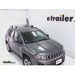 Thule AeroBlade Podium Roof Rack Installation - 2012 Jeep Compass