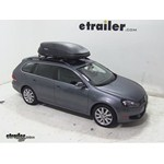 Thule Pulse Medium Rooftop Cargo Box Review - 2011 Volkswagen Jetta SportWagen