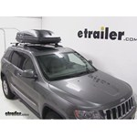 Thule Pulse Large Rooftop Cargo Box Review - 2012 Jeep Grand Cherokee