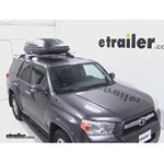 Thule Pulse Medium Rooftop Cargo Box Review - 2012 Toyota 4Runner