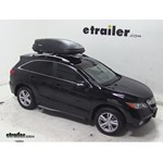 Thule Pulse Medium Rooftop Cargo Box Review - 2013 Acura RDX