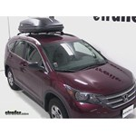 Thule Pulse Medium Rooftop Cargo Box Review - 2013 Honda CR-V