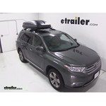 Thule Pulse Large Rooftop Cargo Box Review - 2013 Toyota Highlander