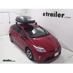 Thule Pulse Medium Rooftop Cargo Box Review - 2013 Toyota Prius