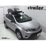 Thule Pulse Large Rooftop Cargo Box Review - 2013 Toyota RAV4