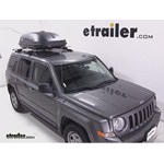 Thule Pulse Medium Rooftop Cargo Box Review - 2014 Jeep Patriot