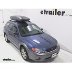 Thule Pulse Alpine Rooftop Cargo Box Review - 2006 Subaru Outback Wagon