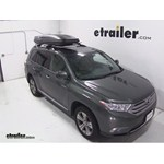 Thule Pulse Alpine Rooftop Cargo Box Review - 2013 Toyota Highlander