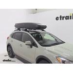 Thule Pulse Alpine Rooftop Cargo Box Review - 2014 Subaru XV Crosstrek