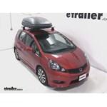 Thule Pulse Medium Rooftop Cargo Box Review - 2012 Honda Fit
