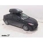 Thule Pulse Medium Rooftop Cargo Box Review - 2013 Mazda 3