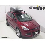Thule Pulse Medium Rooftop Cargo Box Review - 2014 Ford Escape