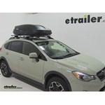 Thule Pulse Medium Rooftop Cargo Box Review - 2014 Subaru XV Crosstrek