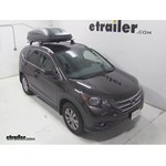 Thule Pulse Large Rooftop Cargo Box Review - 2013 Honda CR-V