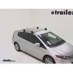 Thule AeroBlade Traverse Roof Rack Installation - 2011 Honda Insight