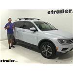 Thule WingBar Evo Crossbars Installation - 2018 Volkswagen Tiguan