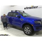 Thule SquareBar Crossbars Installation - 2020 Ford Ranger