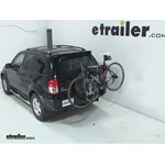 Thule Spare Me Spare Tire Mount Bike Rack Review - 2003 Toyota RAV4