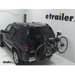 Thule Spare Me Spare Tire Mount Bike Rack Review - 2006 Jeep Liberty