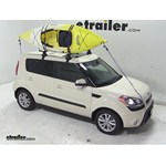 Thule The Stacker Rooftop Kayak Carrier Review - 2013 Kia Soul