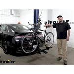 Thule T1 1-Bike Platform Rack Review - 2020 Lincoln MKZ