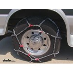 Thule XB16 Snow Tire Chains Review - 1997 Ford Van
