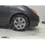 Thule CG9 Snow Tire Chains Review - 2007 Toyota Prius