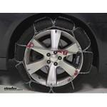 Thule CG9 Snow Tire Chains Review - 2008 Subaru Legacy