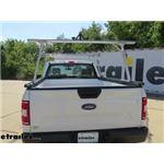 Thule TracRac SR Sliding Truck Bed Ladder Rack Installation - 2020 Ford F-150