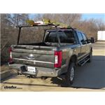 Thule TracRac TracONE Truck Bed Ladder Rack  Installation - 2018 Ford F-250 Super Duty