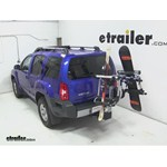 Thule Tram Ski and Snowboard Carrier Adapter Review - 2013 Nissan Xterra