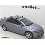 Thule AeroBlade Traverse Roof Rack Installation - 2008 Mazda 6
