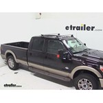 Thule AeroBlade Traverse Roof Rack Installation - 2013 Ford F-250