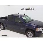 Thule AeroBlade Traverse Roof Rack Installation - 2008 Chevrolet Silverado
