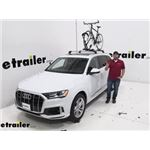 Thule Roof Bike Racks Review - 2020 Audi Q7