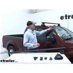 Thule WingBar Evo Crossbars Installation - 2016 Nissan Frontier