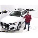 Thule WingBar Evo Crossbars Installation - 2020 Audi Q7