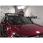 Thule WingBar Evo Crossbars Installation - 2021 Honda CR-V