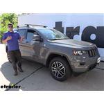 Thule WingBar Evo Crossbars Installation - 2021 Jeep Grand Cherokee