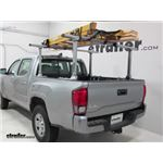 Thule Xsporter Pro Truck Bed Ladder Rack Installation - 2018 Toyota Tacoma