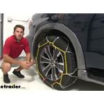 Titan Chain Diamond Alloy Snow Tire Chains Installation - 2019 Nissan Armada