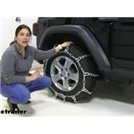 Titan Mud Service Snow Tire Chains Installation - 2020 Jeep Wrangler Unlimited