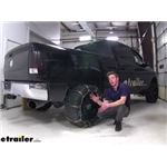 Titan Square Link Snow Chains with Cam Tighteners Installation - 2013 Ram 2500