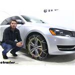 Titan Chain Diamond Alloy Snow Tire Chains Review - 2014 Volkswagen Passat