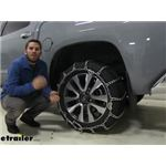 Titan Chain Snow Tire Chains with Tensioners Installation - 2019 Toyota Tundra
