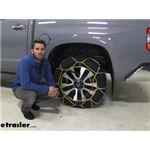 Titan Chain Diamond Alloy Snow Tire Chains Installation - 2019 Toyota Tundra