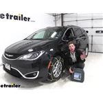Titan Alloy Snow Tire Chains Installation - 2020 Chrysler Pacifica