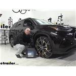 Titan Chain Alloy Snow Tire Chains Installation - 2021 Toyota Highlander